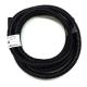 "Wire Loom 3/8"", Black, 5 ft"