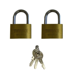 Padlock for Robot Case, 2 Pack, Keyed Alike