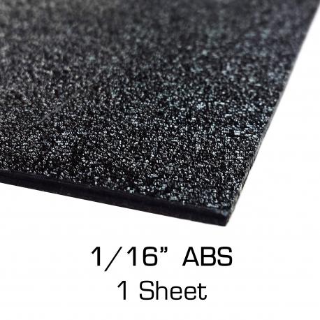 """ABS Sheet 12"""" x 24"""" x 0.0625"""""""