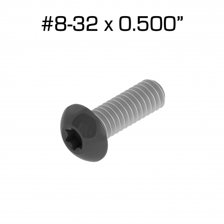 Star Drive Screws, 8-32