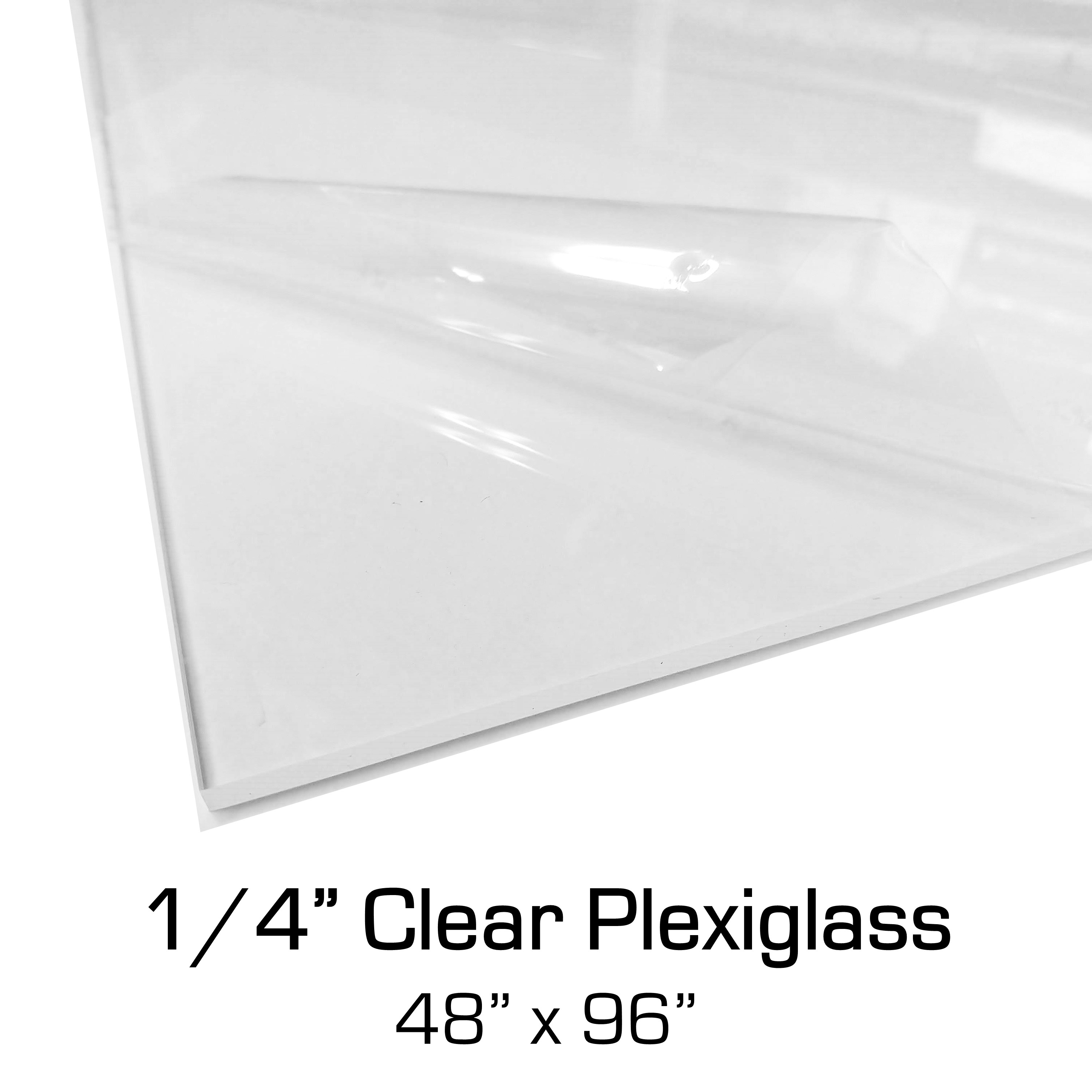 1 4 X 48 X 96 Clear Plexiglass Acrylic In Stock Covid Sneeze Guard Sheets Bulk Wholesale Available