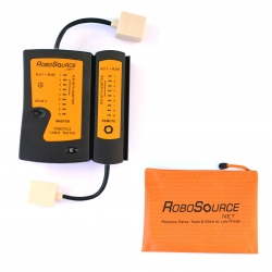 Cable Tester Kit with V5 Adapter & Zipper Pouch