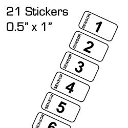 Stickers for VEX Robotics