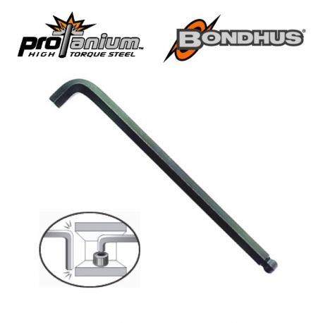 Bondhus® Premium Ball End Hex Key, Stubby