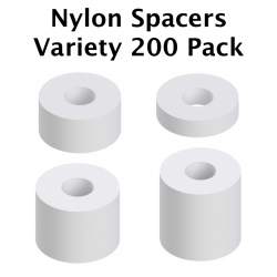Nylon Spacer Variety 200 Pack