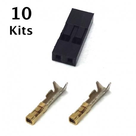 2 Pin Female Connector Repair Kit