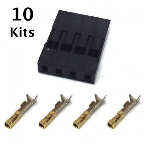 4 Pin Female Connector Repair Kit