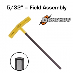 "Bondhus® 5/32"" T-Handle Hex Driver for Field Assembly"
