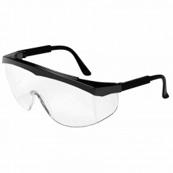 Safety Glasses, Wrap Around Style, 1 Pair