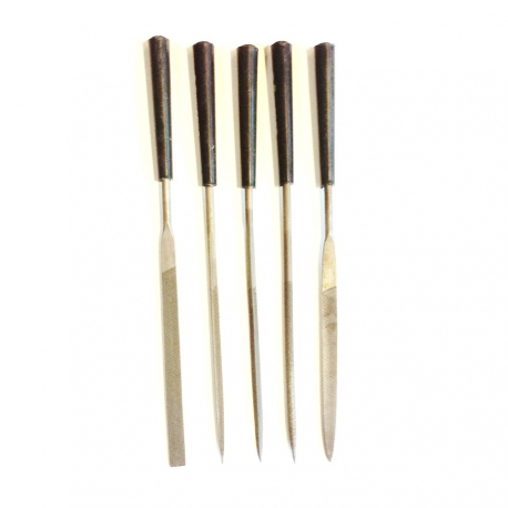 5 Piece Needle File Set, Economy