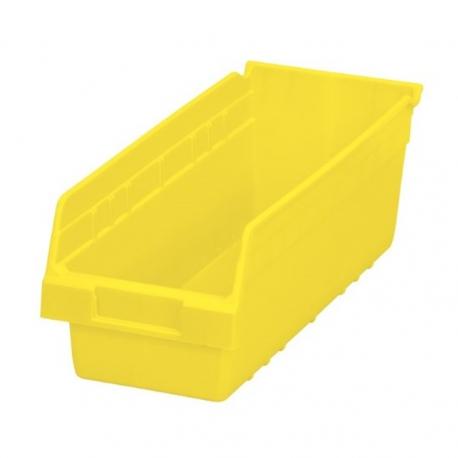 """Shelf Bin 18"""" x 8"""" x 6"""", 8 Pack"""