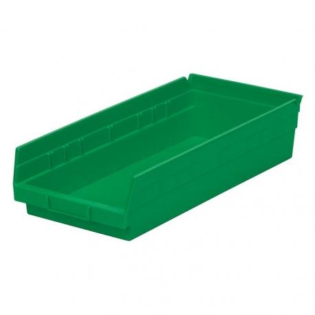 """Shelf Bin 12"""" x 8"""" x 4"""", 12 Pack"""