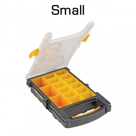 15 Compartment Organizer, Small, Removable Cups