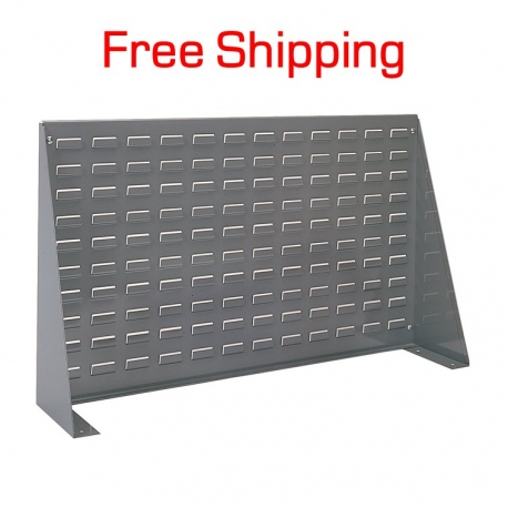 """Bench Rack for Hanging Bins, 36"""" Wide"""