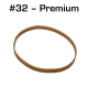 Premium Rubber Bands, Size 32, 100 pack