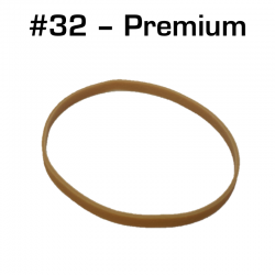 Premium Rubber Bands, Size 32, 25 pack
