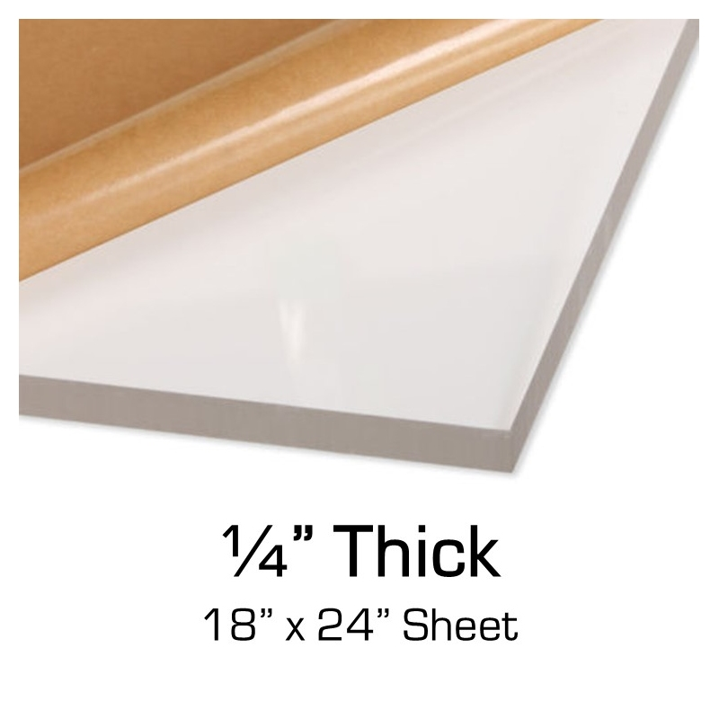 "1//4/"" X 24/"" X 24/"" CLEAR ACRYLIC PLEXIGLASS PLASTIC SHEET"